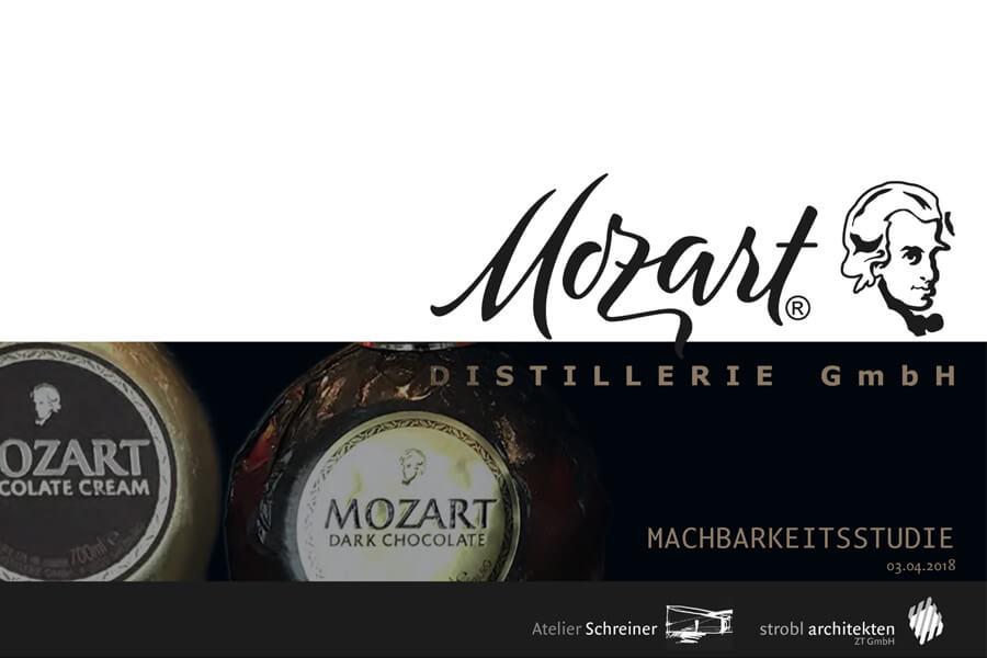 VISITOR- und TRAINIGSCENTER, Machbarkeitsstudie, Mozart Distillerie